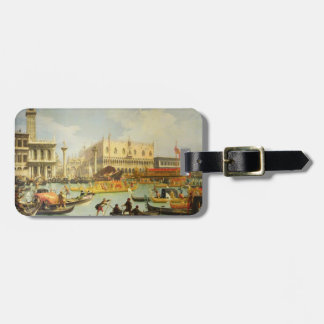 The Betrothal of the Venetian Doge Luggage Tag