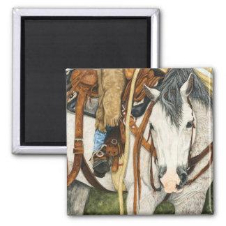 The Better Half - Western Horse & Rider Magnet