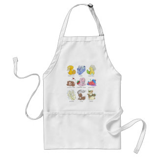 The Beverage Bunnies Standard Apron