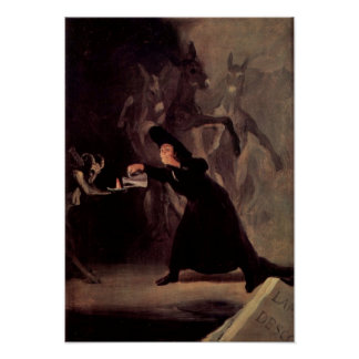 The Bewitched Man By Francisco Goya 1798 Poster
