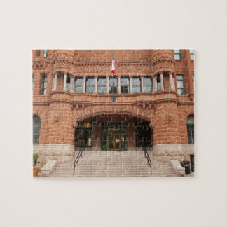 The Bexar County Courthouse, Jigsaw Puzzle
