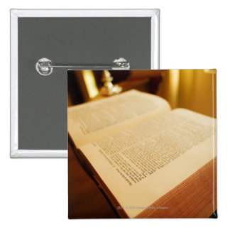 The Bible 2 Inch Square Button