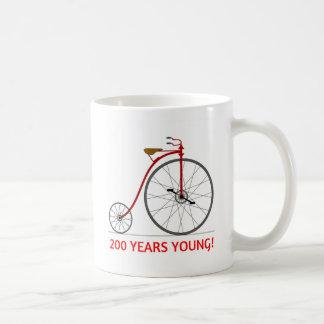 The Bicycle Is Celebrating 200 Young! Coffee Mug