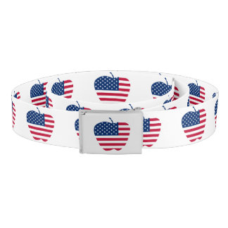The Big Apple America flag NYC Belt