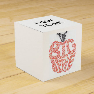 THE BIG APPLE - MINIFACES FAVOR BOX