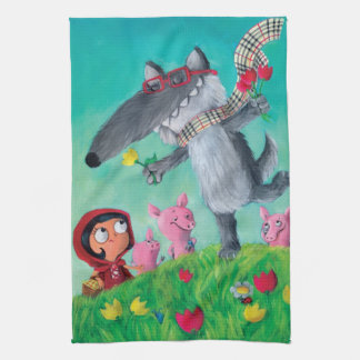 The Big Bad Wolf Kitchen Towels