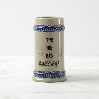 THE BIG BADRANDY WOLF BEER STEIN