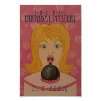 The Big Birthday Mystery!: Book Cover Poster