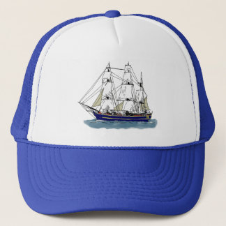 The Big Blue – Tall Ship Trucker Hat