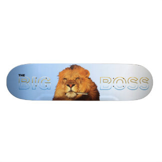 The Big Boss 1 Skateboard Deck