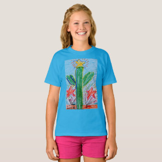 """The """"Big Cactus"""" girls T by Liam Myers T-Shirt"""