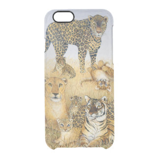 The Big Cats Clear iPhone 6/6S Case