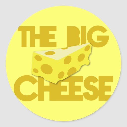The BIG CHEESE! boss Sticker