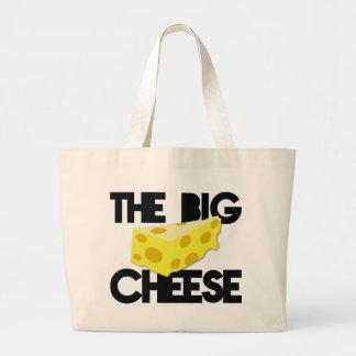 The BIG CHEESE! Jumbo Tote Bag