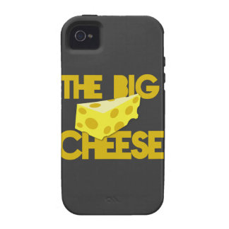 THE BIG CHEESE the boss design with cheese! iPhone 4/4S Cases