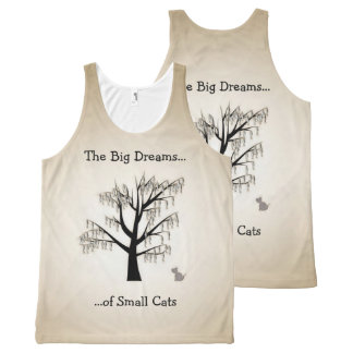 The Big Dreams of Small Cats All-Over-Print Tank Top