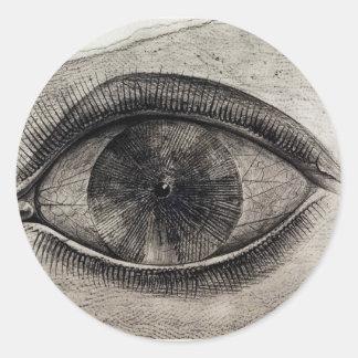 The Big Eye Round Sticker