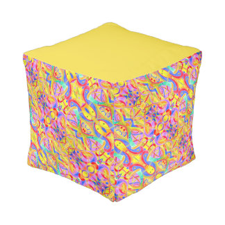 The Big Fish - Square Pouf