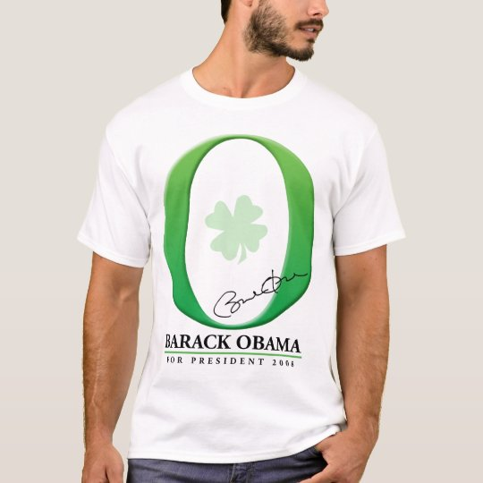 The Big Green O - Barack Obama for President T-Shirt