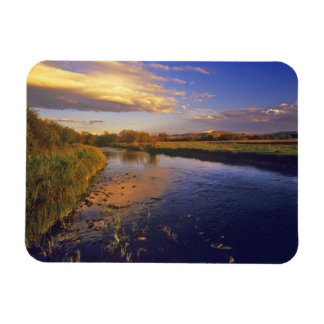 The Big Hole River at last light near Jackson Rectangular Photo Magnet