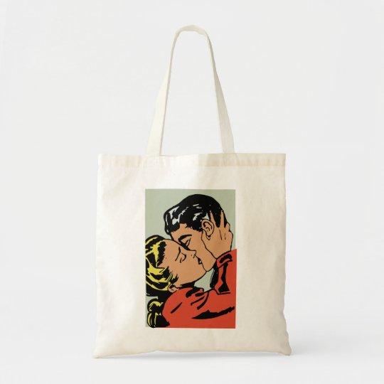 The big kiss tote bag