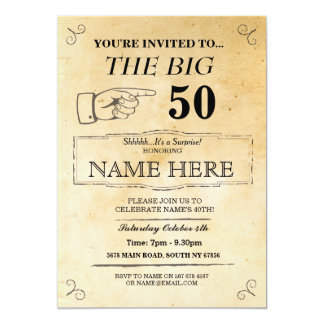 The Big One Birthday Party Rustic Paper Invite