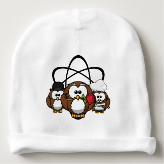 The Big Owl Theory Winter Hat Baby Beanie