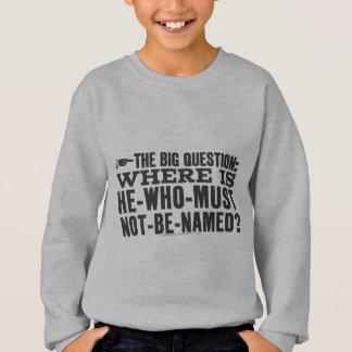 The Big Question Sweatshirt