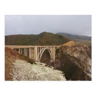 The Big Sur Bridge Post Card
