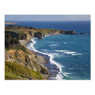The Big Sur coastline in California, USA Postcard