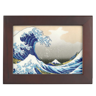 The Big Wave off Kanagawa Hokusai Katsushika art Keepsake Box