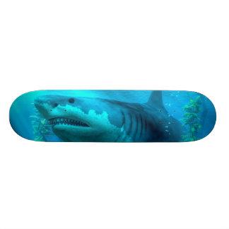 The Biggest Shark Custom Skate Board