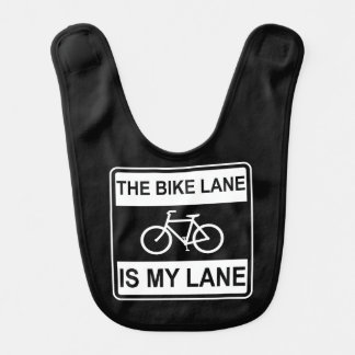The Bike Lane Sign Bib