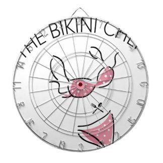 The Bikini Chef Logo Dartboard