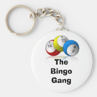 The Bingo Gang Keychain