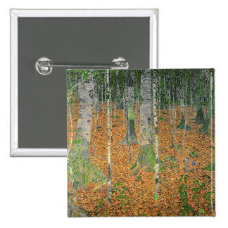 The Birch Wood, 1903 2 Inch Square Button