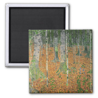 The Birch Wood, 1903 Square Magnet