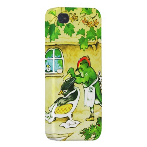 The Bird Barber Cases For iPhone 4