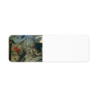 The Bird s Concert by Frans Snyders Custom Return Address Label
