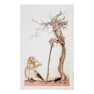 The Bird Woman and The Tree Poster