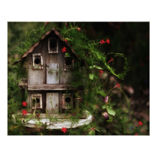 The Birdhouse Poster