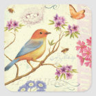 The Birds and the Bees Square Sticker