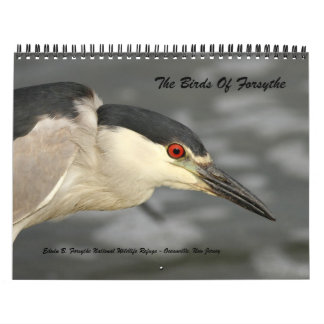 The Birds of Forsythe - Official Refuge Calendar