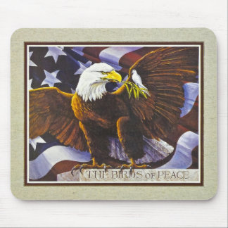 The Birds of Peace Mouse Pad