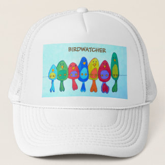 The birds on the wire trucker hat
