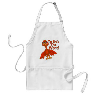 The Bird's The Word Standard Apron