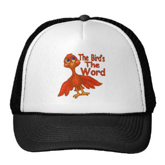 The Bird's The Word Trucker Hat