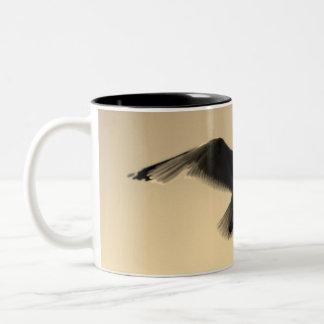 The Birds Two-Tone Coffee Mug