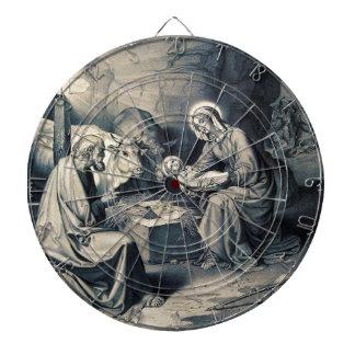 The birth of Christ Dartboard
