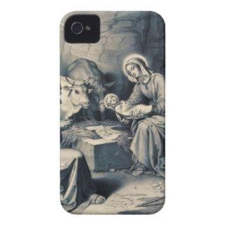 The birth of Christ iPhone 4 Case